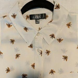 Bumble Bee Tunic High Low Shirt